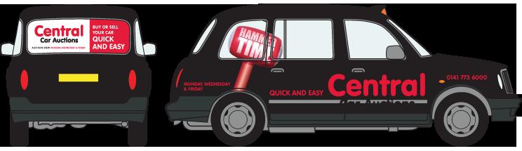 Taxi Advertising Available In Glasgow Edinburgh London